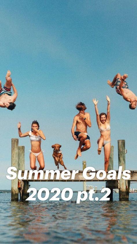 Summer Goals 2020 pt.2