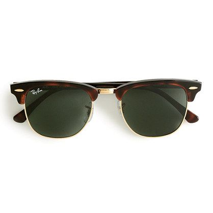 I want these very badly. They are amazing! Ray-Ban® Clubmaster® sunglasses