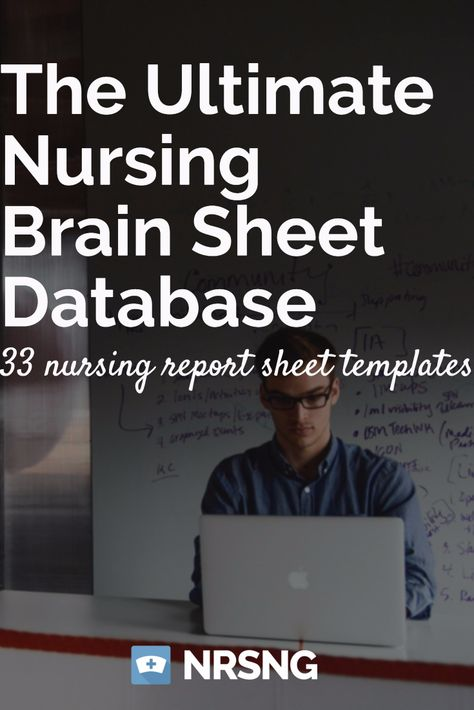 Are you having trouble \ - nursing report sheet templates