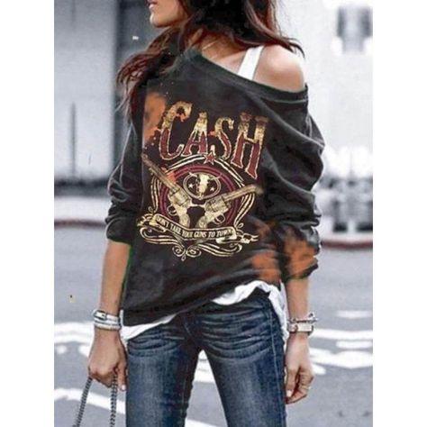 Casual Punk Long Sleeve T