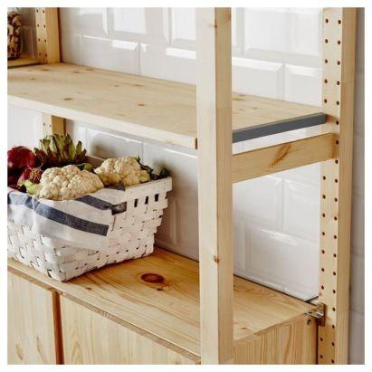 Le Renouveau Du Garde Manger Pour Un Rangement Design Ikea Dans La Cuisine Kitchen Storage Stylish Pantry Hello Blo Meuble En Pin Rayonnage Garde Manger