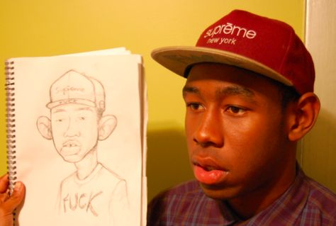 Tyler, The Creator with Tyler, The Creator Tyler The Creator Wallpaper, Sup Girl, Odd Future, Mein Style, Mood Pics, Flower Boys, Wall Collage, Music Artists, Art Inspo