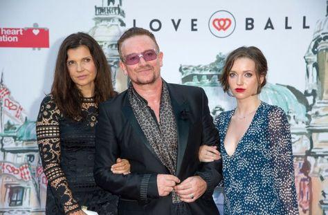Bono, Princess Caroline - Bono and Princess Caroline
