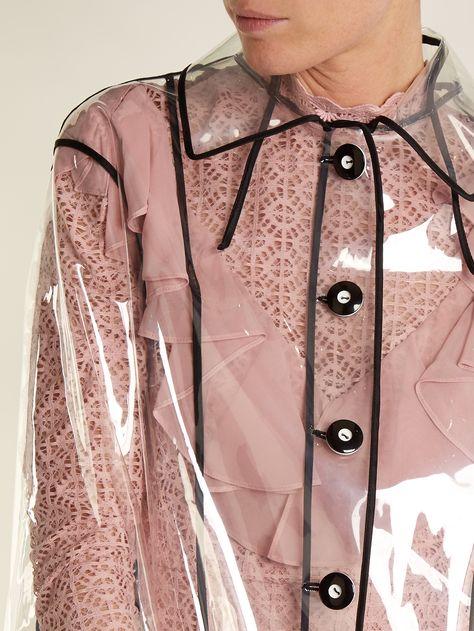 Single-breasted raincoat | Miu Miu | MATCHESFASHION.COM