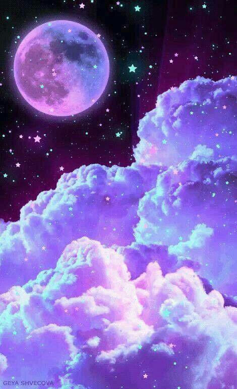 Purple Aesthetic Galaxy Wallpaper Iphone