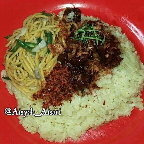 Resep Nasi Kuning Masak Habang Khas Banjarmasin Oleh Siti Aisyah Nur Sari Resep Resep Masakan Masakan Resep