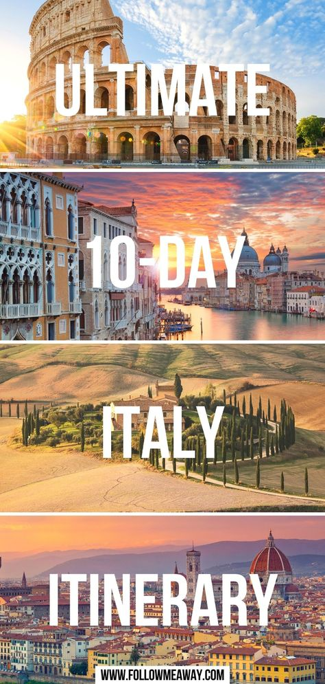 Ultimate 10-Day Italy Itinerary
