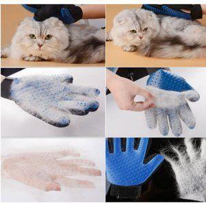 ペット用 ブラシ グローブ 手袋 犬 猫 小動物 お手入れ 抜け毛 右手用 小動物 ペット 猫