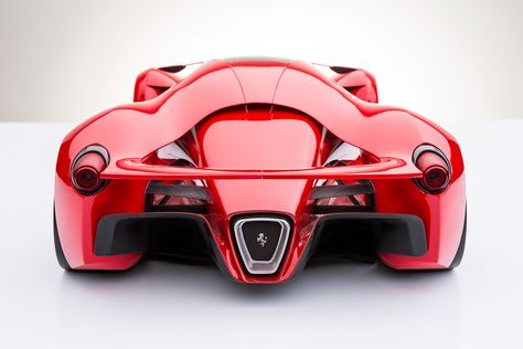 Ferrari F80 Street Legal F1 Concept Stealth Fighter Inspired Unique Er Personality Seating Position 2 Occupant Offset Semi Tandem Air Is Channelled