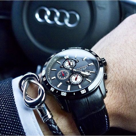 Audi x the affordable TXM027 from @TayrocWatches! 👏🏼