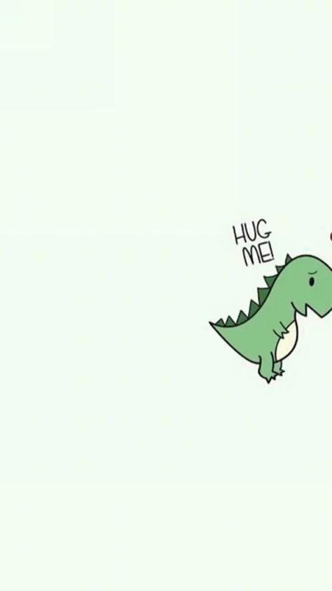 Dinossauro Hug Me Parte 1 Paumkawaii Crazy Wallpaper Sister Wallpaper Best Friend Wallpaper