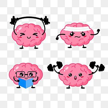 Brain Character Cartoon Mascot Motion Cartoon Brain Png Transparent Clipart Image And Psd File For Free Download Cartoon Brain Logo Character Mascot Design