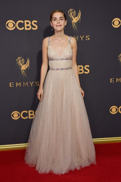 Actor Kiernan Shipka attends the 69th Annual Primetime Emmy Awards at Microsoft Theater.