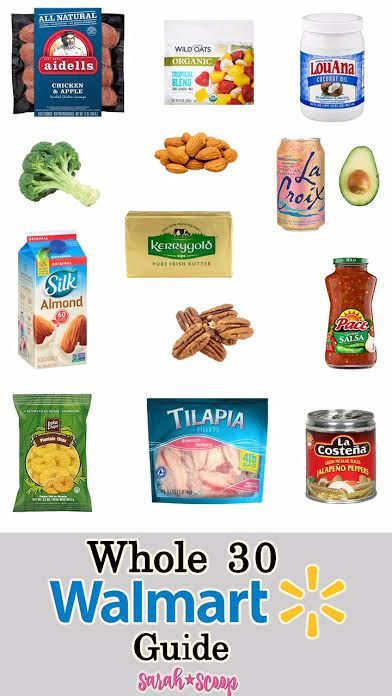 Whole 30 Walmart Shopping Guide | Diet Scoop | Whole 30