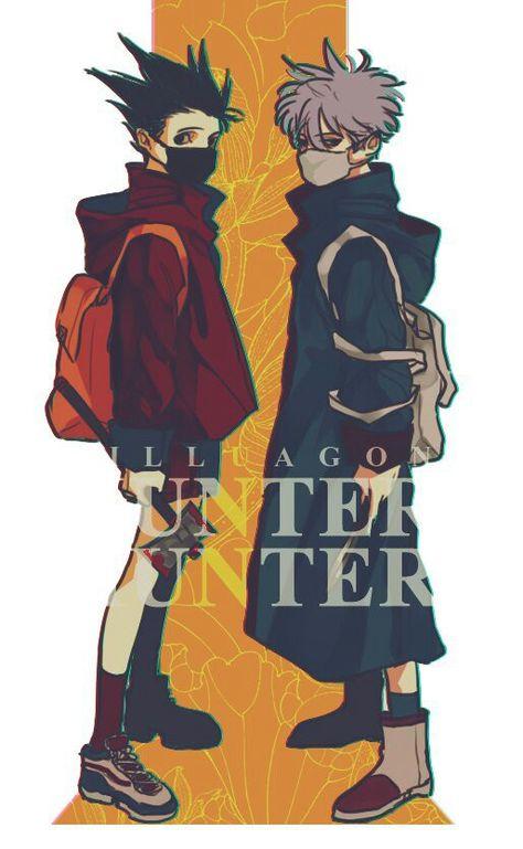 Hunterxhunter Killua and Gon Hunter X Hunter, Hunter Anime, Hunter Fans, City Hunter, Gon Killua, Hisoka, Allen Walker, Hatsune Miku, Otaku