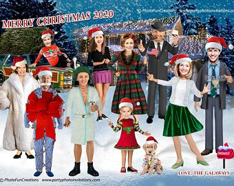 3 Pack Funny Christmas Vacation Photo Card Templates Etsy In 2020 Funny Holiday Cards Funny Christmas Photo Cards Funny Christmas Photos