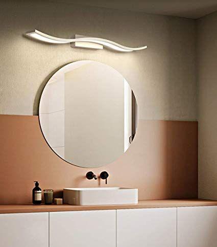 Lampada Per Trucco Specchio Front Light Moderno Creativo Ondulato