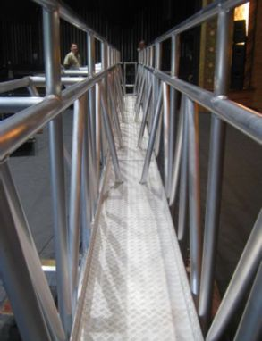 Catwalk Truss systems - possibly more cost effective and