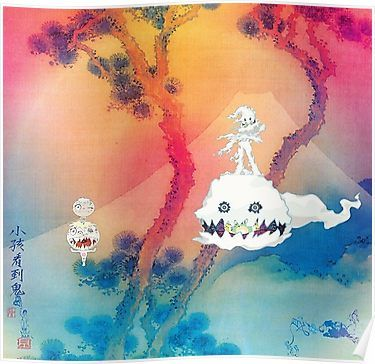 Kids See Ghosts Poster Poster By Vnomblackop In 2020 Kid Cudi Albums Album Cover Art Cover Artwork