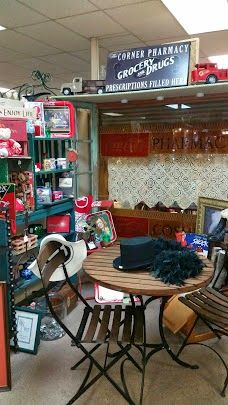 An Antique Mall And More In Downtown Conroe, Texas