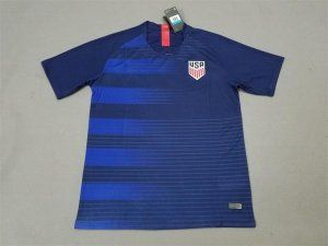 detailed look a51bb 4a7d2 2018 Soccer Jersey USA Away Replica Blue Shirt [BFC598 ...