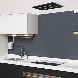 Luxair La 650 Ce Black 65cm Ceiling Cooker Hood In Black 480m3hr Ducting Out Only In 2020 Extractor Hood Cooker Hoods Black Cooker