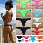 Details about Women HOT Brazilian Cheeky Bikini Bottom Thong Bathing Beach Swimsuit Swimwear Frauen HOT Brazilian Cheeky Bikini Bottom Thong Badestrand Badeanzug Bademode