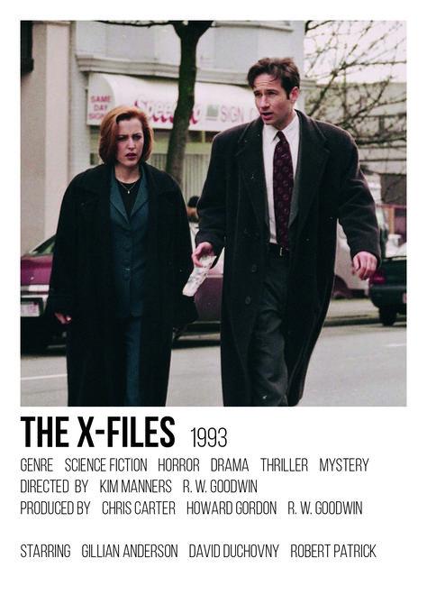 The X-Files polaroid poster