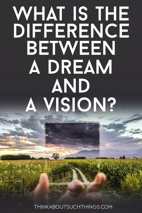 When it comes to the prophetic do you know what the difference is between a dreams and visions? Learn what the Bible has to say and how we can learn to discern the two. #Dream #Vision #Bible