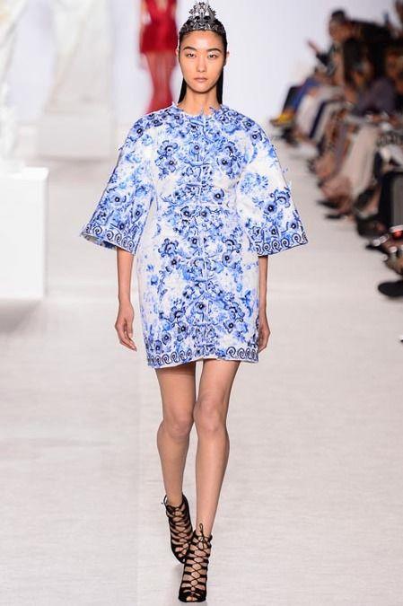Giambattista Valli Fall 2013 Couture Fashion Show Collection: See the complete Giambattista Valli Fall 2013 Couture collection. Look 16