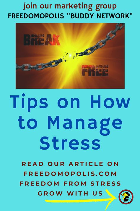 Tips on How to Manage Stress
