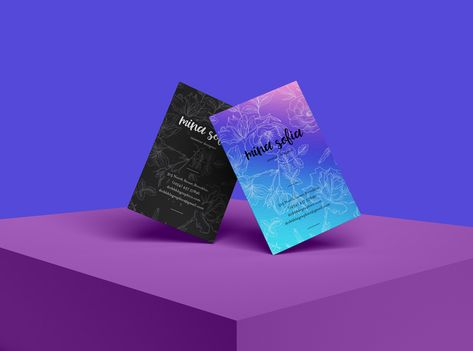 Stylish Business Card PSD Mockup Download Free - DesignHooks