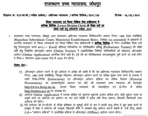 Click Here To Apply For Rajasthan High Court Vacency,Rajasthan - citizenship application form