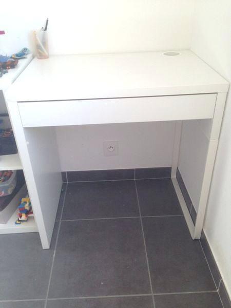 petit bureau blanc bureau bebe ikea