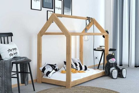Sleep Design Treehouse Wooden Bed Frame White 1 Ano