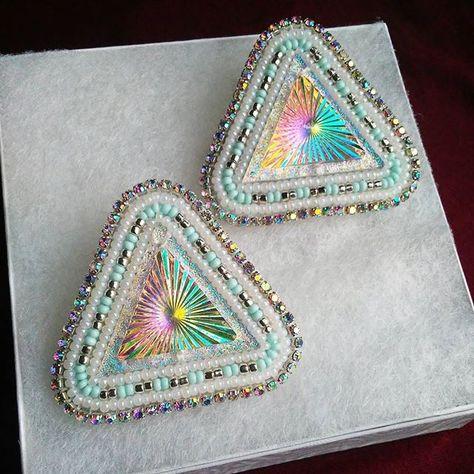 swarovski **SOLD** #beadwork...