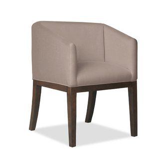Harber Arm Chair By Brayden Studio Dining Chair Upholstery Solid Wood Dining Chairs Chair