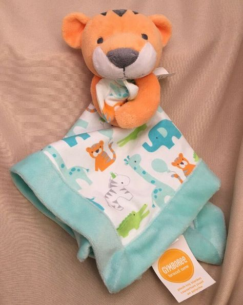 NWT Gymboree Brand New Baby Rattle Plush Toy NEW