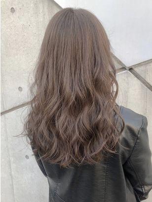 2020年春 セミロングの髪型 ヘアアレンジ 人気順 7ページ目 ホットペッパービューティー ヘアスタイル ヘアカタログ 2020 髪色 ベージュ 髪 カラー ブリーチなし