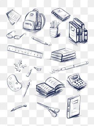 تعلم القرطاسية رسم مخطوطة مرسومة باليد تعلم ادوات مكتبيه رسم Png وملف Psd للتحميل مجانا How To Draw Hands Cute Art Styles Corporate Stationery
