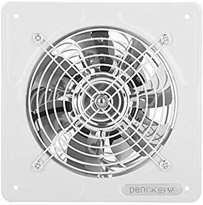 6 Exhaust Fan Box Fan Quiet High Speed Air Ventilation Fan For
