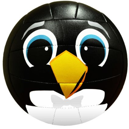 Molten Ms500 Penguin Volleyball Volleyball Volleyballs Penguins