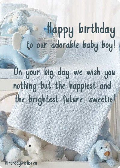 First Birthday Wishes For Son 1st Birthday Wishes First Birthday Wishes Wishes For Baby Boy