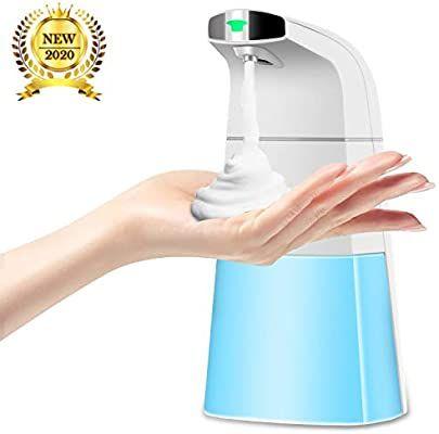 Amazon Com Detsnik Automatic Foaming Soap Dispenser Upgraded Touchless Automatic Soap Dispenser 310ml 1 Foam Soap Dispenser Automatic Soap Dispenser Foam Soap