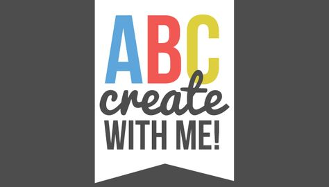 A new project for every day in September? Woohoo!! ABC Create With Me at Somewhat Simple. Make sure to stay tuned for a great free printable from BitsyCreations, too!