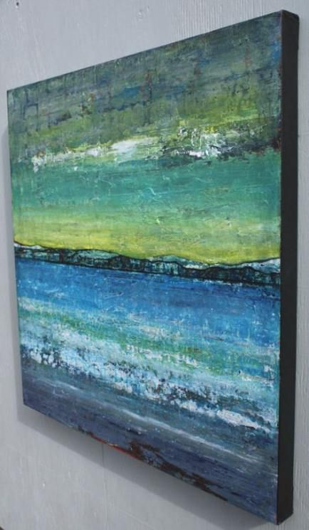 36 Ideas Painting Abstract Ocean Texture Painting Abstracte