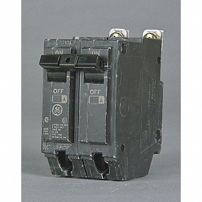 Ge Thqb2120 Bolt On Mount Type Thqb Miniature Circuit Breaker 2 Pole 20 Amp 120 240 Volt Ac Review Breakers Electric Bolt Circuit