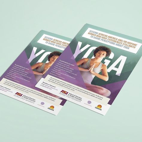Yoga Program At Arizona State University Finaldraftdesign Asu Yoga Design Designer Graphicdesign Graph Yoga Program Arizona State University Web Design