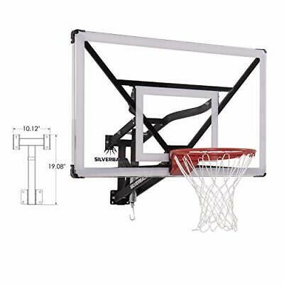 Advertisement Ebay 54 Inch Wall Mount Adjustable Basketball Backboard Hoop Indoor Outdoor Sports Adjustable Basketball Hoop Basketball Wall Basketball Hoop