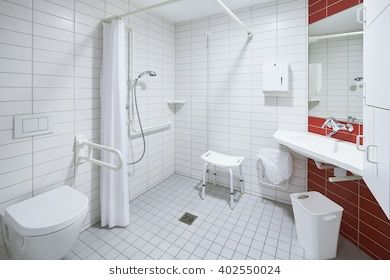Image Result For Hospital Bathroom Accessible Shower Wheelchair Accessible Shower Designer Shower Curtains